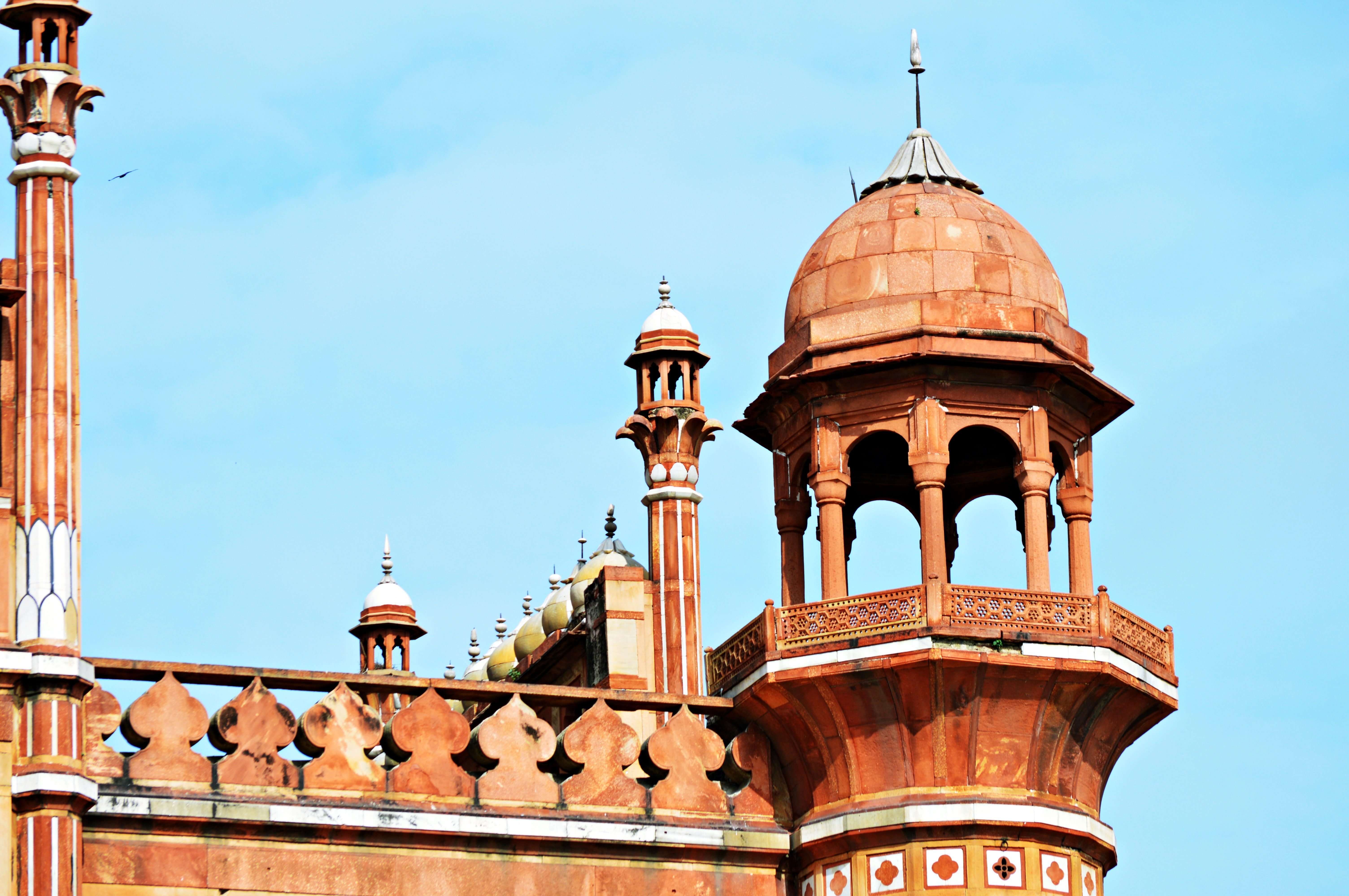 A breath of french air for the blind emperor of delhi my for Spaces architects safdarjung